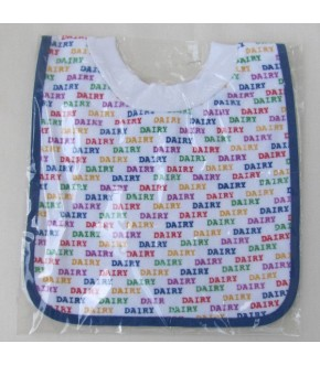 COTTON TERRY DAIRY BIB