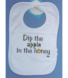 DIP THE APPLES IN THE HONEY BIB