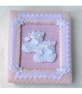 PINK BOOTIE BABY PHOTO ALBUM