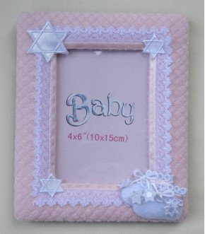 PINK BABY BOOTIE FRAME