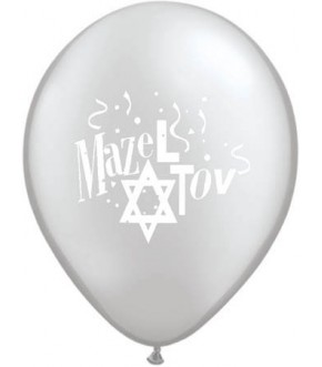 MAZEL TOV PACKAGE OF 12 LATEX BALLOONS