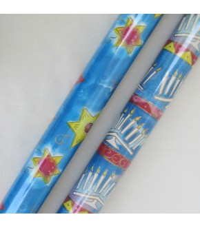 HANUKKAH GIFT WRAP SOLD BY THE ROLL