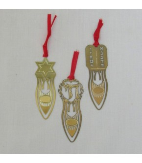 GOLD METAL BOOKMARKS