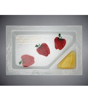 BEAMES RECTANGLE APPLE HONEY PLATE