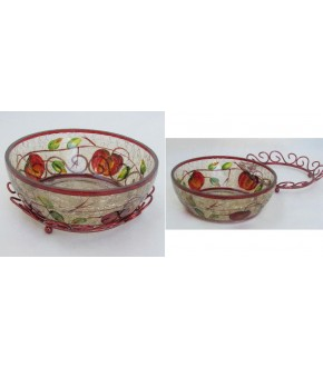 HONEY APPLE 2 PIECE BOWL SET