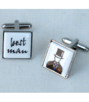 BEST MAN CUFF LINKS