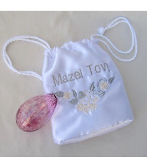 BOUQUET MAZEL BAG SOFT PINK BULB