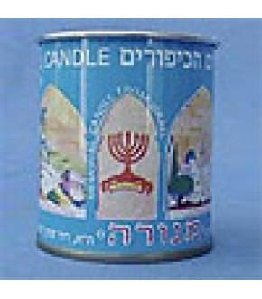 MEMORIAL CANDLE IN TIN