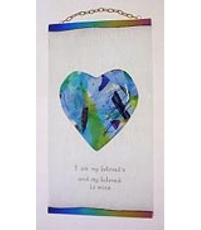 I AM MY BELOVED HEART WALL HANGING