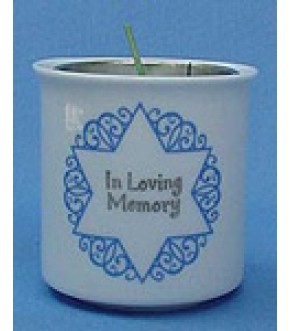 PORCELAIN MEMORIAL HOLDER