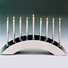 Electric / Lucite Menorahs