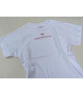 TODDLER WHITE CHAI MAINTENANCE T SHIRT
