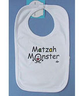 MATZAH MONSTER BIB